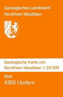 Geologische Karten von Nordrhein-Westfalen 1:25000 / Uedem von Grünhage,  Heinz, Klostermann,  Josef, Paas,  Wilhelm