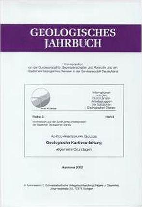 Geologische Kartieranleitung von :Schwarz,  C
