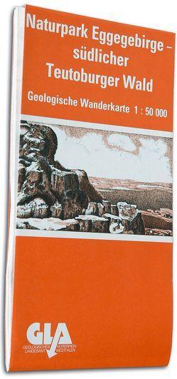 Geologische Wanderkarte des Naturparks Eggegebirge und südlicher Teutoburger Wald von Farrenschon,  Jochen