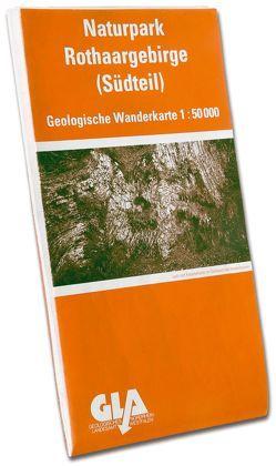 Geologische Wanderkarte des Naturparks Rothaargebirge. 1:50000 / Südteil von Mueller,  Horst, Thünker,  Michael