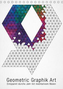 Geometric Graphik Art (Tischkalender 2019 DIN A5 hoch)