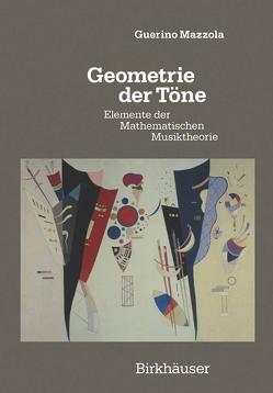 Geometrie der Töne von Mazzola,  Guerino