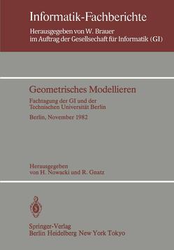 Geometrisches Modellieren von Gnatz,  R., Nowacki,  H.