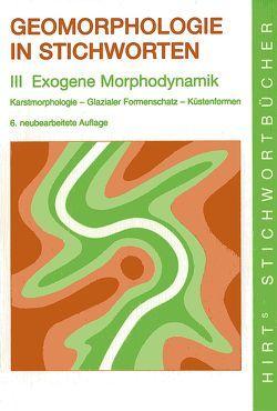 Geomorphologie in Stichworten von Embleton-Hamann,  Christine, Wilhelmy,  Herbert