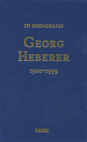 Georg Heberer von Schildberg,  Friedrich Wilhelm