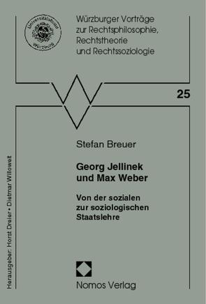 Georg Jellinek und Max Weber von Breuer,  Stefan