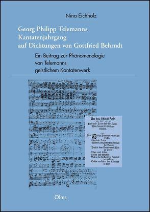Georg Philipp Telemanns Kantatenjahrgang auf Dichtungen von Gottfried Behrndt von Eichholz,  Nina