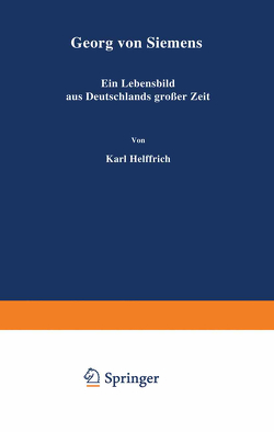 Georg von Siemens von Helfferich,  Karl