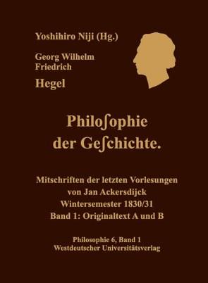 Georg Wilhelm Friedrich Hegel von Niji,  Yoshihiro