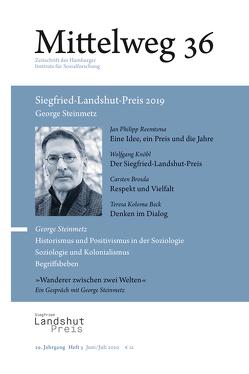 George Steinmetz. Siegfried-Landshut-Preis 2019 von Brosda,  Carsten, Knöbl,  Wolfgang, Koloma Beck,  Teresa, Reemtsma,  Jan Philipp, Steinmetz,  George