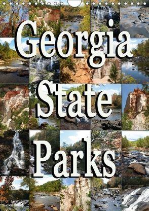 Georgia State Parks (Wandkalender 2018 DIN A4 hoch) von Schwarz,  Sylvia