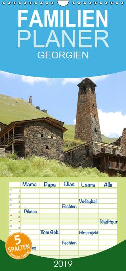 GEORGIEN – Familienplaner hoch (Wandkalender 2019 , 21 cm x 45 cm, hoch) von (Schweiz),  Huttwil, Schmid,  Samuel