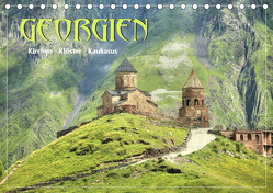 Georgien – Kirchen Klöster Kaukasus (Tischkalender 2020 DIN A5 quer) von Stamm,  Dirk