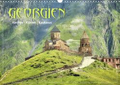 Georgien – Kirchen Klöster Kaukasus (Wandkalender 2020 DIN A3 quer) von Stamm,  Dirk