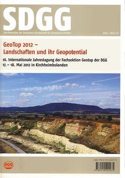 GeoTop 2012                       Landschaften und ihr Geopotential von Haneke,  Jost, Lang,  Roger, Röhling,  Heinz-Gerd