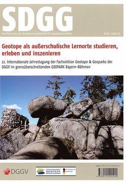 Geotope als außerschulische Lernorte studieren, erleben und inszenieren. von Peterek,  Andreas, Röhling,  Heinz-Gerd