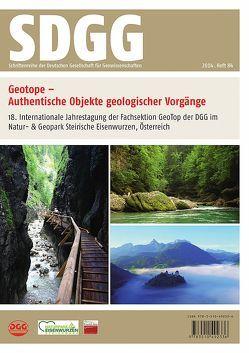 Geotope – Authentische Objekte geologischer Vorgänge von Kollmann,  Heinz A., Röhling,  Heinz-Gerd