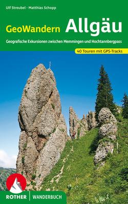 GeoWandern Allgäu von Schopp,  Matthias, Streubel,  Ulf