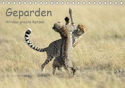 Geparden – Afrikas grazile Katzen (Tischkalender 2019 DIN A5 quer) von Jürs,  Thorsten