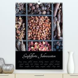 Gepfefferte Jahreszeiten (Premium, hochwertiger DIN A2 Wandkalender 2021, Kunstdruck in Hochglanz) von Schlossherr,  Xenia