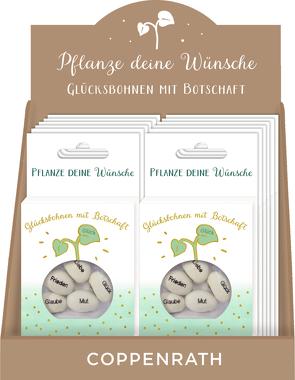 Geprägte Saatbohnen – Pflanze deine Wünsche