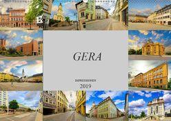 Gera Impressionen (Wandkalender 2019 DIN A2 quer) von Meutzner,  Dirk