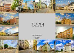 Gera Impressionen (Wandkalender 2019 DIN A4 quer) von Meutzner,  Dirk