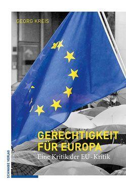 Gerechtigkeit für Europa von Kreis,  Georg