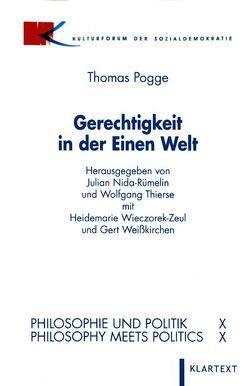 Gerechtigkeit in der Einen Welt von Pogge,  Thomas