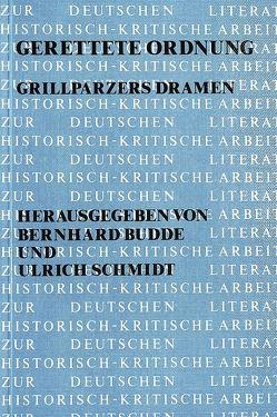 Gerettete Ordnung von Budde,  Bernhard, Schmidt,  Ulrich