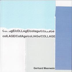 Gerhard Meerwein. Collagen von Hoffmann,  Marianne, Meerwein,  Gerhard