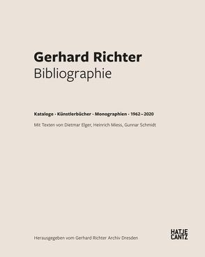 Gerhard Richter. Bibliographie von Elger,  Dietmar, Miess,  Heinrich, Schmidt,  Gunnar