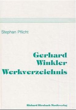 Gerhard-Winkler-Werkverzeichnis von Pflicht,  Stephan