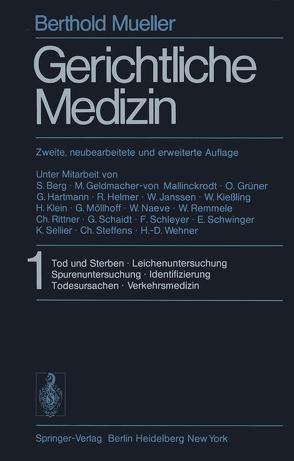 Gerichtliche Medizin von Mueller,  B.