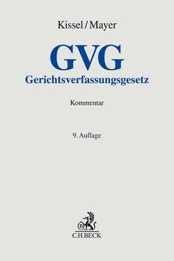 Gerichtsverfassungsgesetz von Kissel,  Otto Rudolf, Mayer,  Herbert