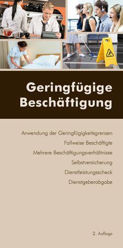 Geringfügige Beschäftigung von Rosenfellner,  Rafaela, Wotruba,  Sebastian