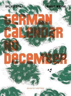 German Calender No December von Ofili,  Sylvia, Weyhe,  Birgit