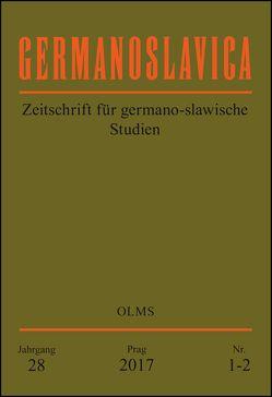 Germanoslavica. Zeitschrift für germano-slawische Studien. von Ulbrecht,  Siegfried
