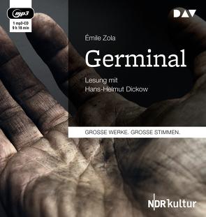 Germinal (2 mp3-CDs) von Dickow,  Hans-Helmut, Schlaf,  Johannes, Zola,  Émile