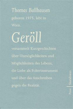 Geröll von Ballhausen,  Thomas