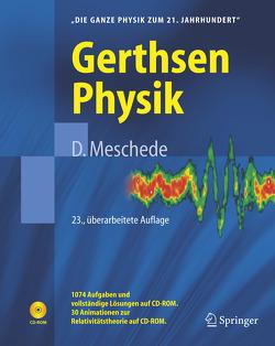 Gerthsen Physik von Gerthsen,  Christian, Meschede,  Dieter