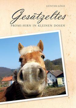 Gesätzeltes von Göge,  Günter