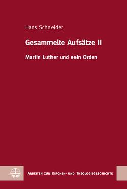 Gesammelte Aufsätze II von Breul,  Wolfgang, Schneider,  Hans, Vogel,  Lothar