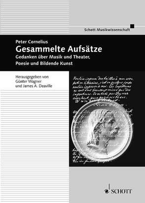 Gesammelte Aufsätze von Cornelius,  Peter, Wagner,  Günter