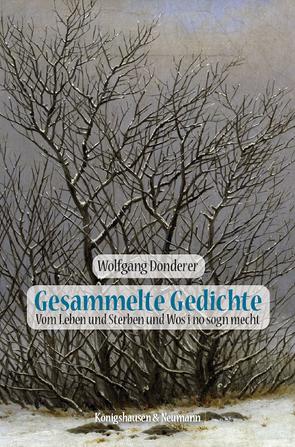 Gesammelte Gedichte von Donderer,  Wolfgang