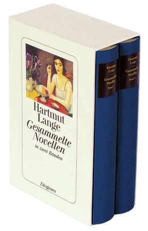 Gesammelte Novellen in zwei Bänden in Kassette von Lange,  Hartmut