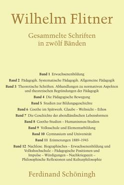 Gesammelte Schriften von Erlinghagen,  Karl, Flitner,  Andreas, Flitner,  Wilhelm, Herrmann,  Ulrich