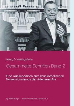 Gesammelte Schriften Band 2 von Bürger,  Peter, Heidingsfelder,  Georg D.