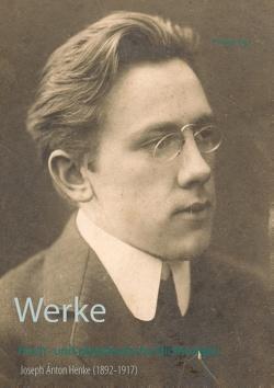 Gesammelte Werke von Bürger,  Peter, Henke,  Joseph Anton