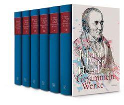 Gesammelte Werke von Hebel,  Johann Peter, Knopf,  Jan, Littmann,  Franz, Schmidt-Bergmann,  Hansgeorg